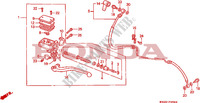 CLUTCH MASTER CYLINDER for Honda CBR 1000 1992