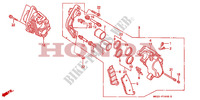 FRONT BRAKE CALIPER for Honda CBR 1000 1992
