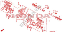 STEP for Honda CBR 1000 1992