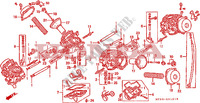 CARBURETOR (COMPONENT PARTS) Engine 1100 honda-motorcycle PAN-EUROPEAN 1994 E__2101