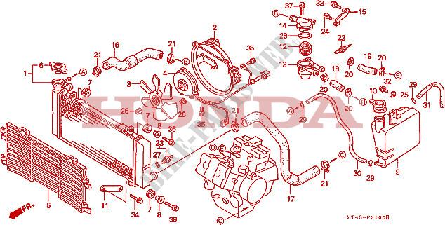 vfr 750 1995 fuel tank diagram wiring diagrams page Riding a 1995 VFR 750