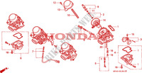 CARBURETOR (COMPONENT PARTS) for Honda CBR 600 F 1992