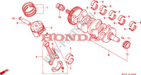 CRANKSHAFT for Honda CBR 600 F 1992
