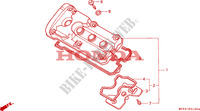 CYLINDER HEAD COVER for Honda CBR 600 F 1992