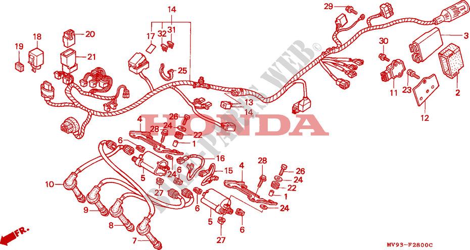 honda cbr600 wiring diagram cbr600rr wiring diagram wiring