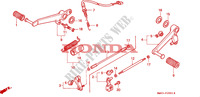 PEDAL (2) Frame 900 honda-motorcycle CBR 1995 F__2001