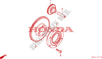 STARTING CLUTCH Engine 900 honda-motorcycle CBR 1995 E__0700