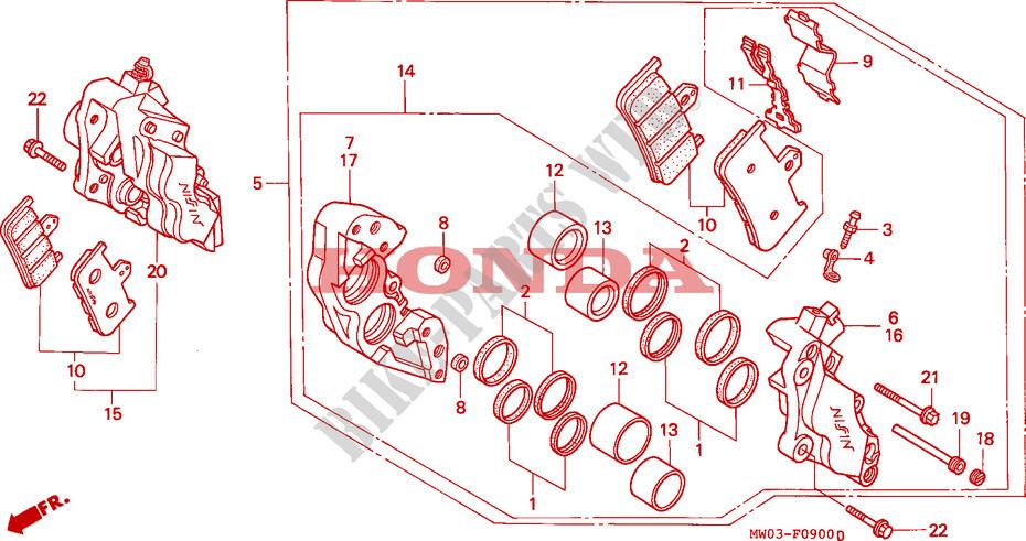 Ignition Switch Fits Honda CBR 900 RRP Fireblade   1993 0900 CC