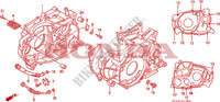 CRANKCASE Engine 650 honda-motorcycle NX 1993 E__1300