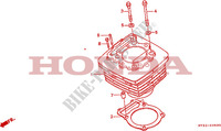 CYLINDER Engine 650 honda-motorcycle NX 1993 E__0500