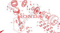 CRANKSHAFT/PISTON Engine 500 honda-motorcycle CB 2002 E__1400