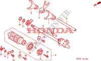 GEARSHIFT DRUM Engine 500 honda-motorcycle CB 2002 E__1700