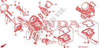 CARBURETOR (COMPONENT PARTS) for Honda CB 500 1994
