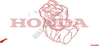 GASKET KIT A for Honda CB 500 1994