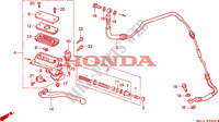 CLUTCH MASTER CYLINDER for Honda BIG ONE 1000 1994