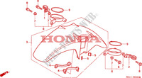 FRONT FENDER for Honda BIG ONE 1000 1994
