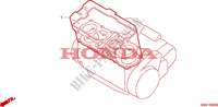 GASKET KIT A for Honda BIG ONE 1000 50HP 1995