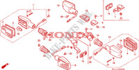 INDICATOR for Honda BIG ONE 1000 1994