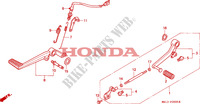 PEDAL for Honda BIG ONE 1000 1994