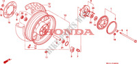REAR WHEEL for Honda BIG ONE 1000 1994