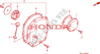 RIGHT CRANKCASE COVER for Honda BIG ONE 1000 50HP 1995