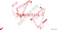 SIDE COVERS for Honda BIG ONE 1000 1994
