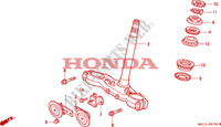 STEERING DAMPER for Honda BIG ONE 1000 1994