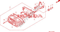 TAILLIGHT for Honda BIG ONE 1000 1994