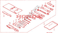 TOOLS for Honda BIG ONE 1000 1994