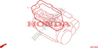 GASKET KIT A Honda motorcycle microfiche diagram CBR1000FP 1993 CBR 1000 F