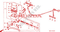 CLUTCH MASTER CYLINDER Frame 1500 honda-motorcycle GOLD-WING 1993 F__0600