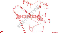 RESERVE TANK Frame 1500 honda-motorcycle GOLD-WING 1993 F__3600