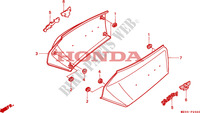 SIDE COVER Frame 1500 honda-motorcycle GOLD-WING 1993 F__2300