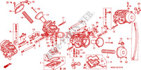 CARBURETOR (COMPONENT PARTS) Engine 1100 honda-motorcycle PAN-EUROPEAN 1996 E__2101