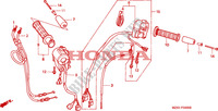 SWITCH/CABLE Honda motorcycle microfiche diagram ST1100PT 1996 PAN EUROPEAN ST 1100