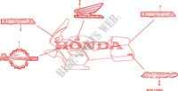 MARK Frame 1100 honda-motorcycle PAN-EUROPEAN 1996 F__4200