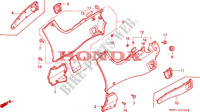SIDE COVER Frame 1100 honda-motorcycle PAN-EUROPEAN 1993 F__2100