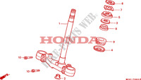 STEERING STEM Frame 1100 honda-motorcycle PAN-EUROPEAN 1993 F__0800