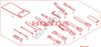 TOOLS Frame 1100 honda-motorcycle PAN-EUROPEAN 1996 F__3600