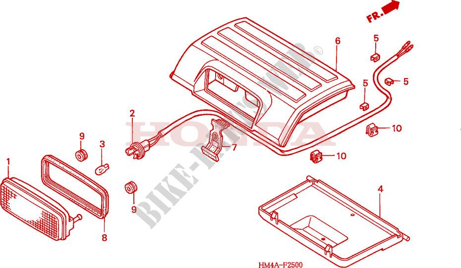 Wiring Diagram For Honda Recon Atv