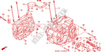 CRANKCASE Engine 125 honda-motorcycle CG 2005 E__1200