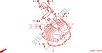 CYLINDER HEAD COVER for Honda CG 125 2004