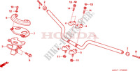 HANDLE PIPE Frame 250 honda-motorcycle FORZA 2005 F__0800