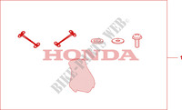 HIGH WINDSHIELD Honda motorcycle microfiche diagram CBF125MA 2010 CBF 125