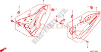 SIDE COVER Honda motorcycle microfiche diagram CBF125MA 2010 CBF 125