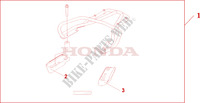 REAR CARRIER Honda motorcycle microfiche diagram CBF500A4 2005 CBF 500 ABS