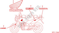 MARK Honda motorcycle microfiche diagram CBF500A4 2005 CBF 500 ABS