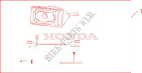 FRONT SPEAKER SET Honda motorcycle microfiche diagram NT700VA 2010 DEAUVILLE 700