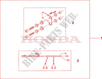 HEATED GRIP ATT. Honda motorcycle microfiche diagram NT700VA 2010 DEAUVILLE 700