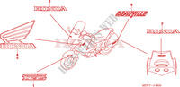 MARK Honda motorcycle microfiche diagram NT700VA 2010 DEAUVILLE 700